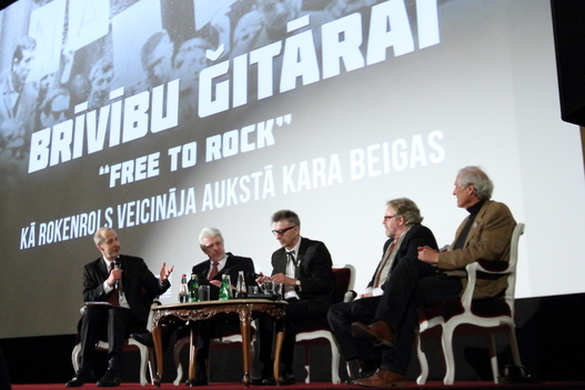 Free to Rock in Riga, Latvia for its premier