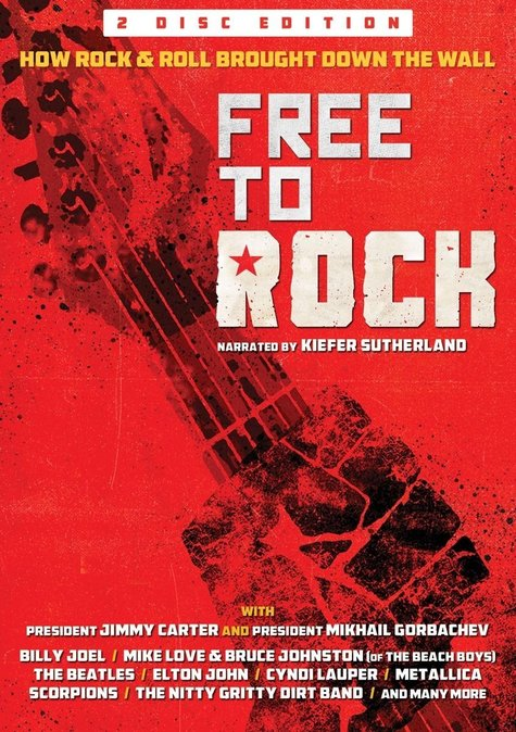 Own the DVD of Free To Rock a documentary about how rock and roll contributed to the end of the Cold War